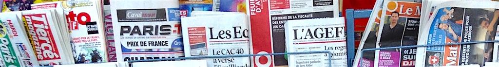 La presse à l'école: une semaine pour l'éducation aux médias